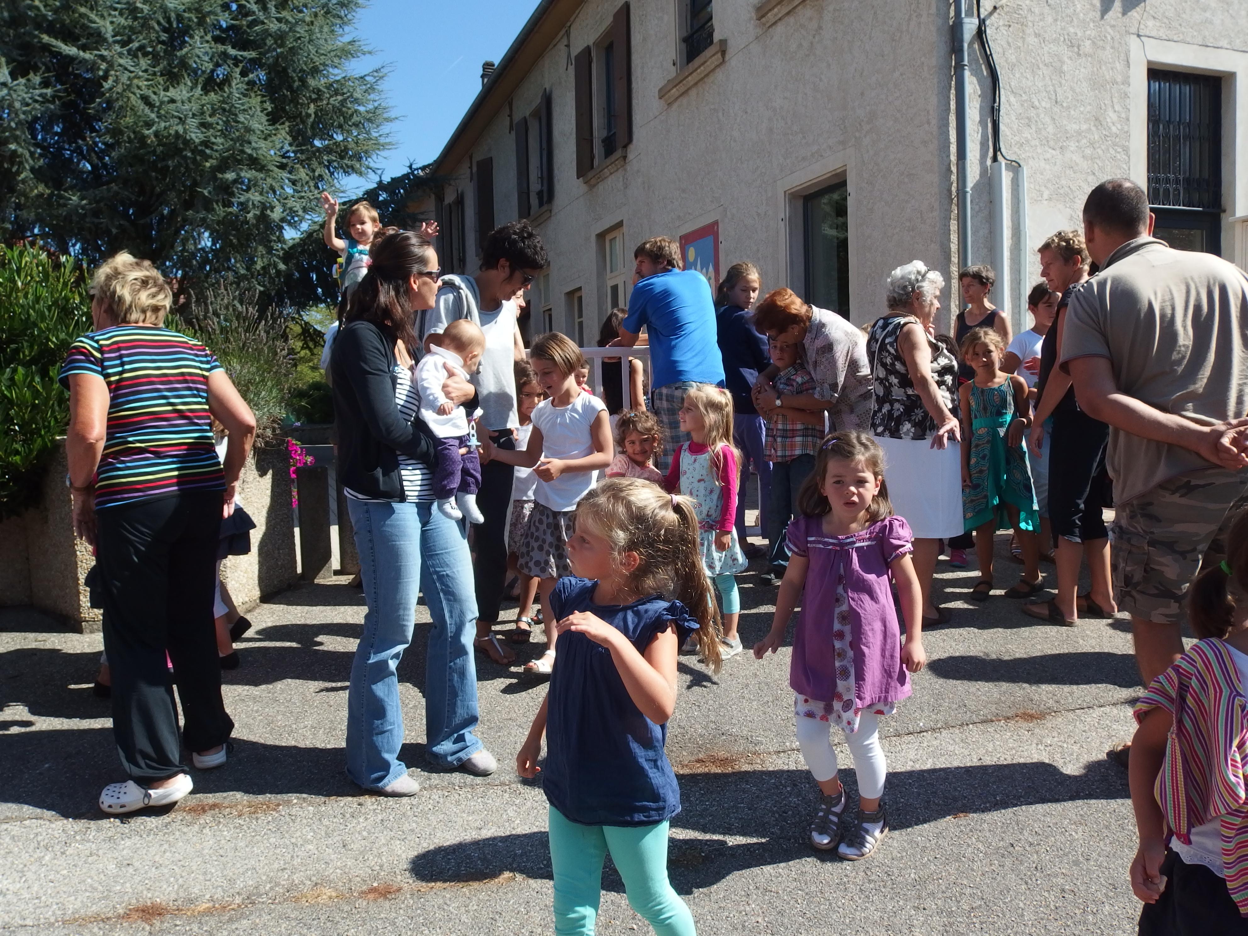Rentrée scolaire Vaulnaveys le Haut 2013